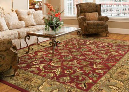 Your treasured rug is clean and ready for display!